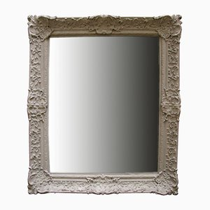 Antique French Pastel Mirror