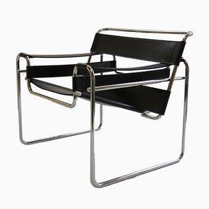 Silla Wassily B3 de Marcel Breuer para Knoll, años 70