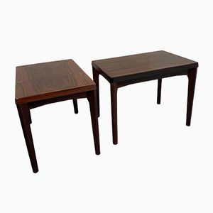 Danish Rosewood Coffee Tables from Vejle, 1970s, Set of 2