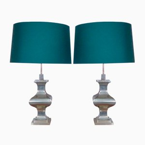Antique Style Table Lamps, 1970s, Set of 2