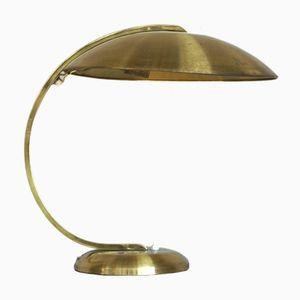 Schreibtischlampe aus Messing von Hillebrand, 1951