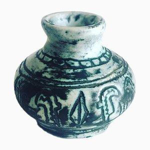 Vaso piccolo in ceramica di Jacques Blin, anni '60