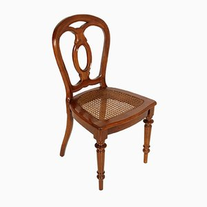 Set aus Esstisch & 6 Stühlen, 19. Jh.