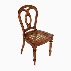 Set con 6 sedie e tavolo da pranzo, XIX secolo