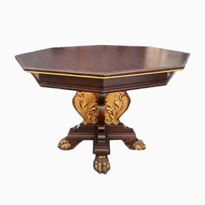 Tisch aus Nussholz im Renaissance-Stil, 19. Jh.