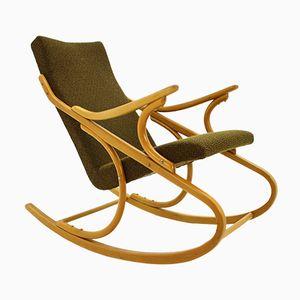 Rocking Chair Mid-Century de TON, 1950s