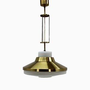 Lámpara de techo Mid-Century de Napako, años 70