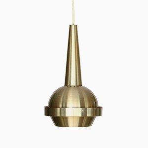 Space Age Swedish Aluminum Pendant, 1960s