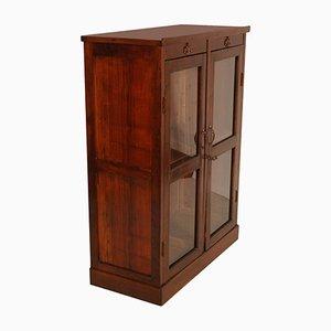 19th-Century Glazed Cabinet