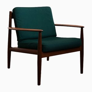 Mid-Century Modern Teak Armchair by Grete Jalk for France & Son