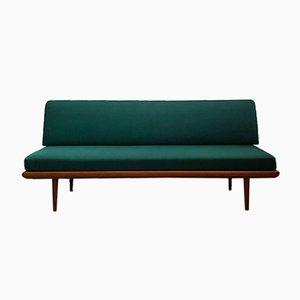 Mid-Century Sofa mit Gestell aus Teak von Peter Hvidt & Orla Mølgaard-Nielsen für France & Son