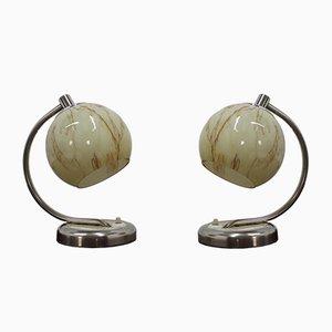 Lampes de Bureau Vintage, 1950s, Set de 2