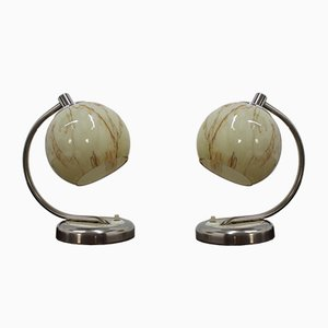 Vintage Table Lamps, 1950s, Set of 2
