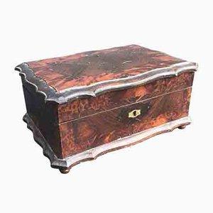 Antique Wooden Jewelry Box, 1800s