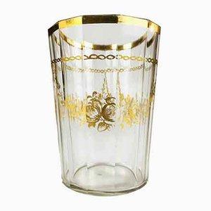 Vaso de oro antiguo de Bohemia, década de 1700
