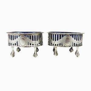 Antique Silver Bowls, Set of 2