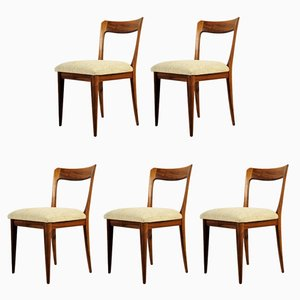 Mid-Century Chairs, 1950s, Set of 5