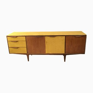 Mid-Century Danish Mustard Teak Sideboard from McIntosh, 1960s