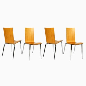 Olly Tango Chairs by Philippe Starck for Driade Aleph, 1990s, Set of 4