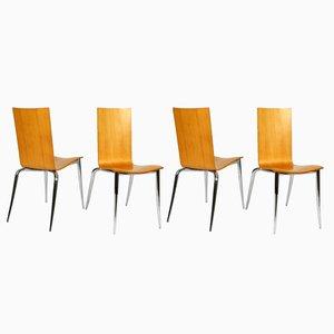 Olly Tango Stühle von Philippe Starck für Driade Aleph, 1990er, 4er Set