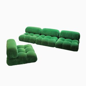 Modular Camalenda Sofa by Mario Bellini for B&B Italia, 1970s, Set of 4