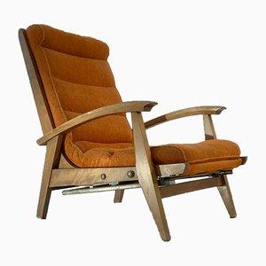Französischer Sessel von Guy Besnard für Free Span, 1950er