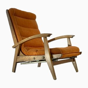 French Armchair by Guy Besnard for Free Span, 1950s