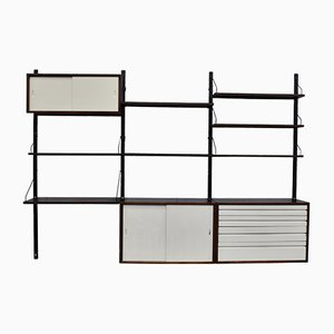 Mid-Century Wenge Royal Wall Unit by Poul Cadovius for Cado