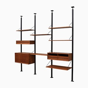 Royal Wall Unit by Poul Cadovius for Cado, 1950s