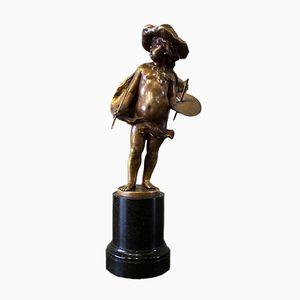 Antike Bronzefigur von Franz Iffland