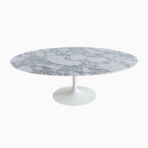 Mesa de comedor vintage ovalada de Eero Saarinen para Knoll Inc, 1958