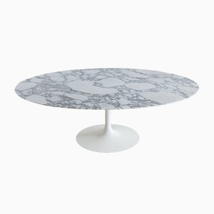 Vintage Oval Dining Room Table by Eero Saarinen for Knoll Inc, 1958
