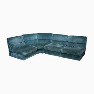 Modulares 4-teiliges Sofa von Rolf Benz, 1970er