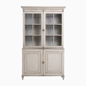 Antique Gustavian 2-Part Cabinet