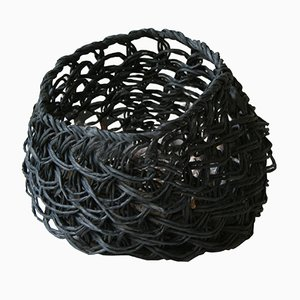 Small Black Nutcase Basket by BEST BEFORE