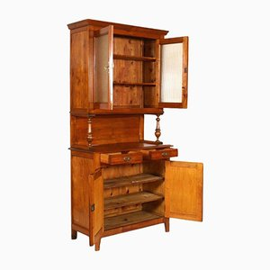 19th-Century Wooden Display Cabinet