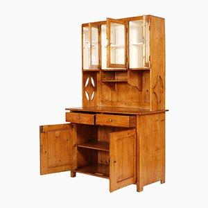 Mobiletto Art Déco tirolese in legno in pino, anni '30
