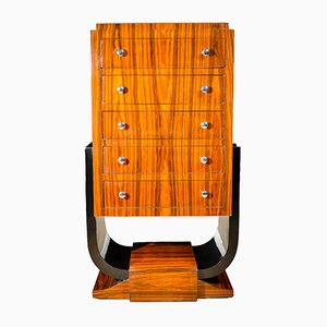 Rosewood Art Deco Chest of Drawers, 1920s