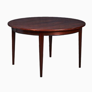 Danish Rosewood Model 55 Dining Table from Omann Jun, 1960s