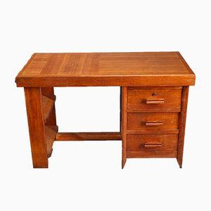 Vintage Schreibtisch von Pierre Bloch & Charles Dudouyt für La Gentilhommière