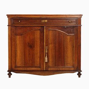 19th-Century French Walnut Credenza