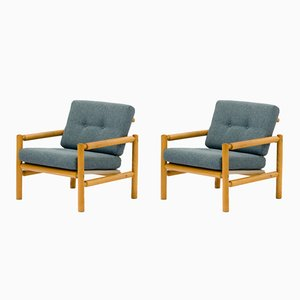 Armchairs from Krasna Jizba, 1970s, Set of 2