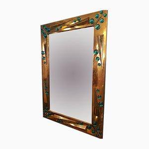 Specchio vintage di Romeo Rega, anni '70