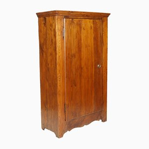 Antique Biedermeier Fir Wardrobe