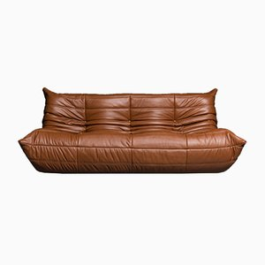 Vintage 3-Seater Togo Sofa by Michel Ducaroy for Ligne Roset, 1973
