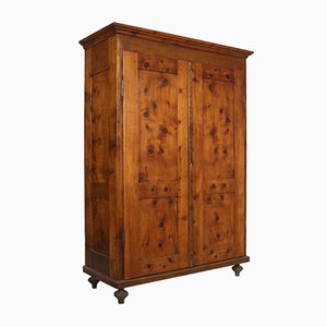 18th Century Antique Tyrolean Larch Wardrobe
