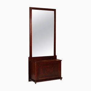 Art Deco Truhe mit Spiegel