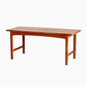 Table Basse Vintage en Teck, Danemark, 1960s