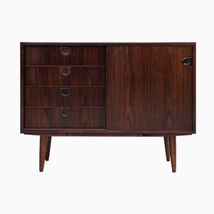 Mid-Century Danish Rosewood Cupboard with Drawers