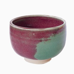 Small Stoneware Cup with Oxblood Glaze by Marcello Dolcini, 2019